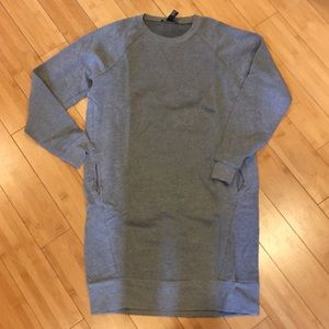 Heather grey Sweatshirt sweater  Dress
